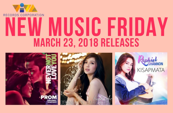 New Music Friday: New Songs from JaDine, Donnalyn Bartolome